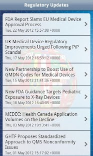 Medical Device Regulatory - screenshot thumbnail