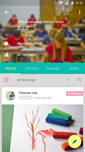 Classting-Our Class Connection