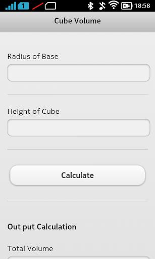 CubeVolume