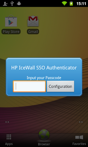 HP IceWall SSO Authenticator
