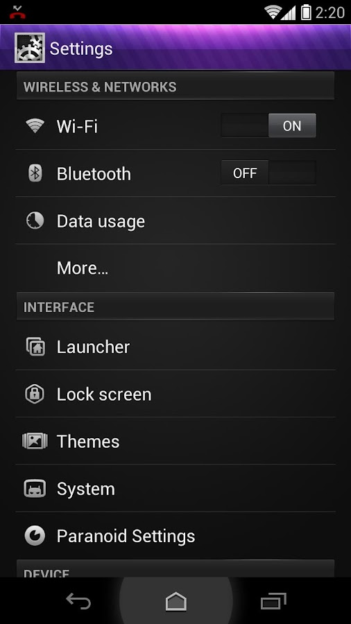 BreezeHD Theme for CM9/CM10.2 - screenshot