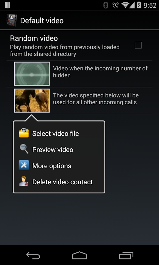 Video Caller Id (Pro)- screenshot