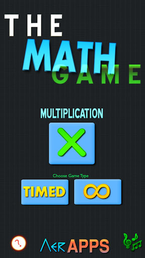 The Math Game - Multiplication