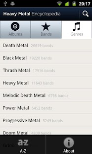 Heavy Metal Encyclopedia - screenshot thumbnail