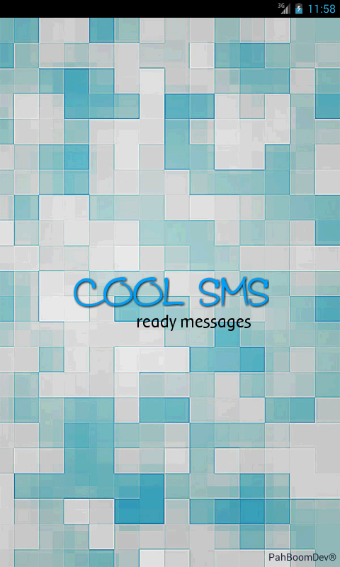 SMSLegal ready messages. - screenshot