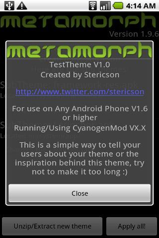 MetaMorph - screenshot