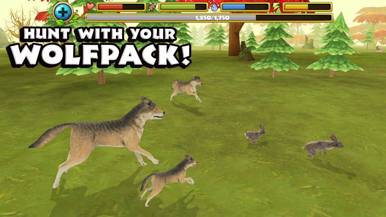 Online Wolf Simulation