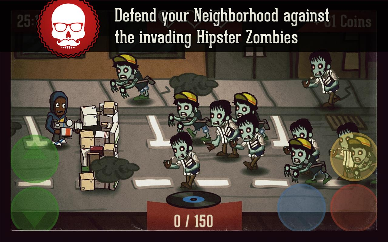Hipster Zombies - screenshot