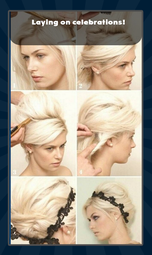 漂亮的发型 Piàoliang de fǎxíng