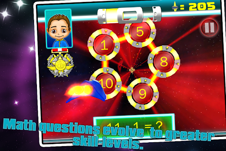SPACE VOYAGER K,1,2 MATH FREE - screenshot thumbnail