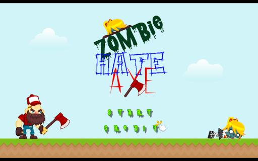 Zombie Hate Axe