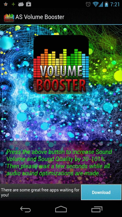 AS Volume Booster PRO - screenshot