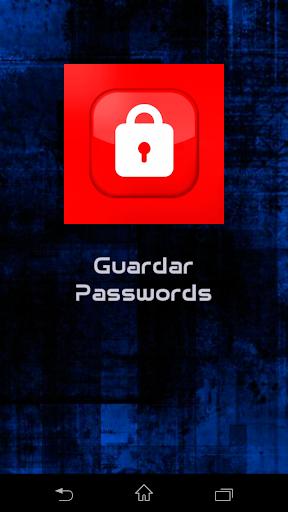 Guardar Passwords
