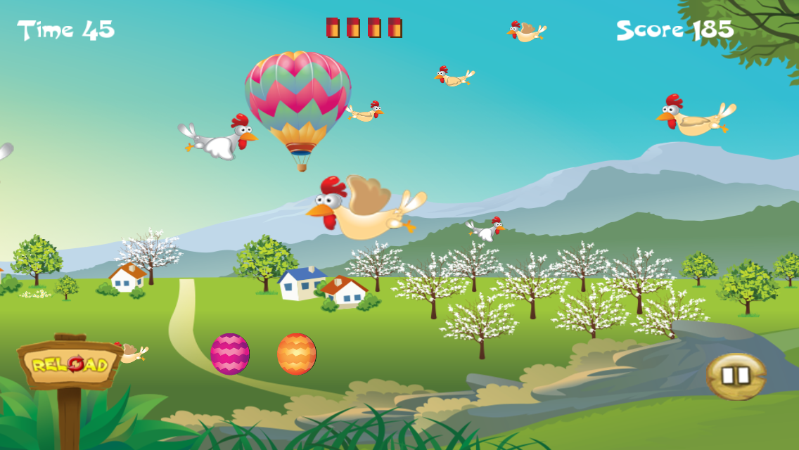 Chicken Hunt- screenshot