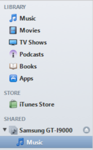 iTunes Music Share - screenshot thumbnail