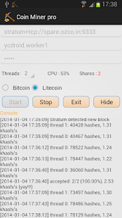 Coin Miner pro- screenshot thumbnail