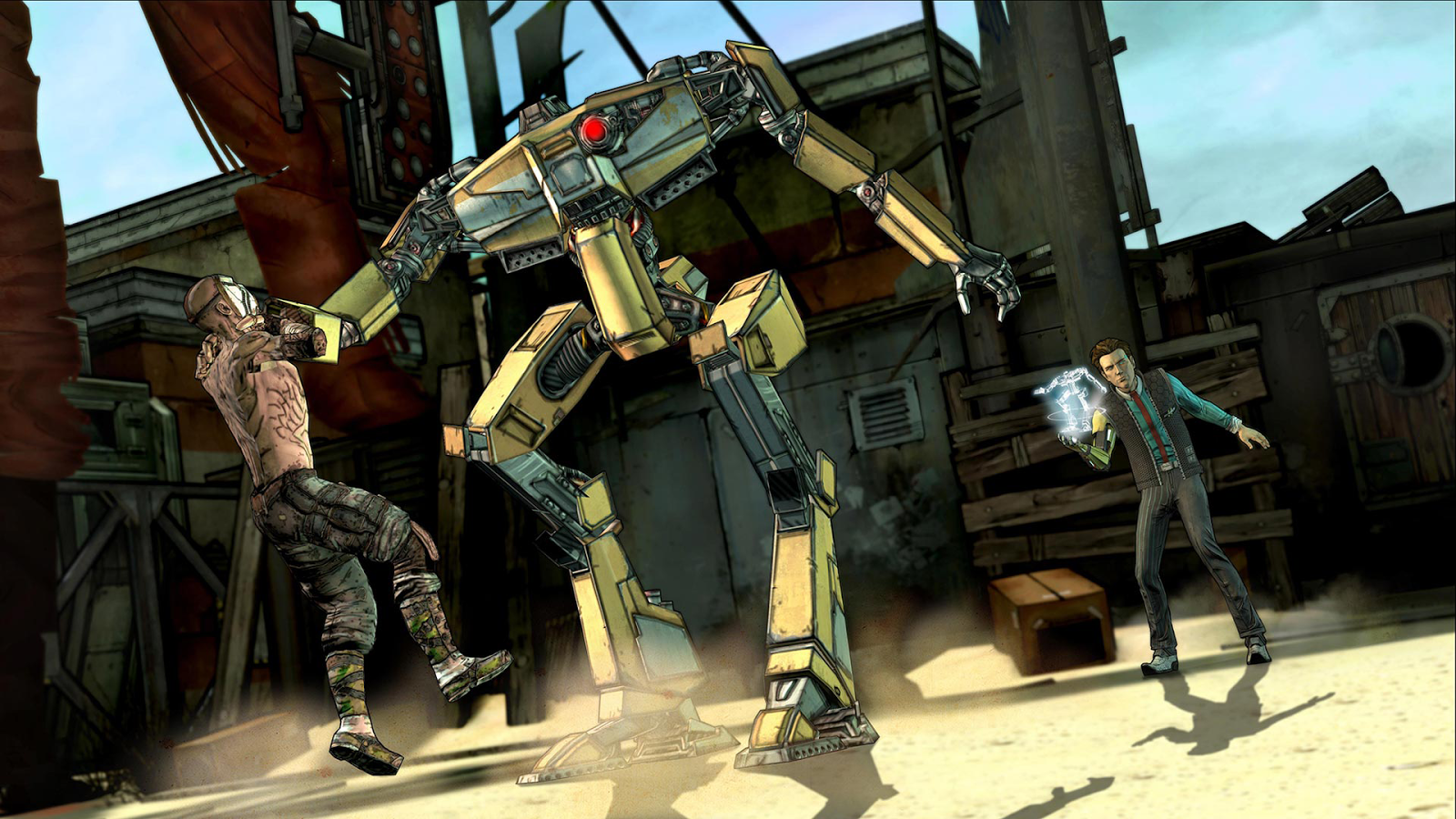 Tales from the Borderlands- screenshot