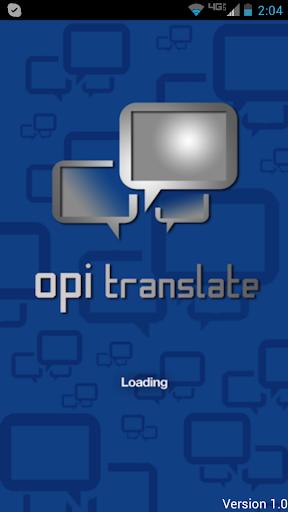 OPI Translate