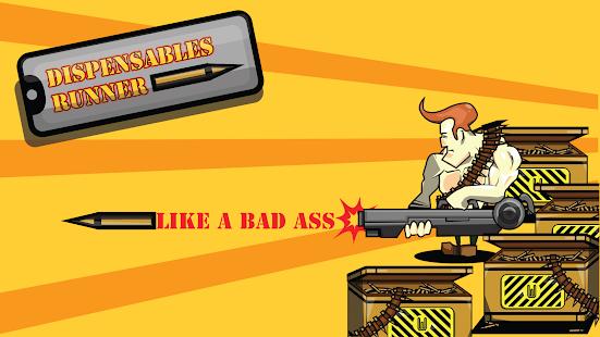 Dispensables the Gun Runner screenshot