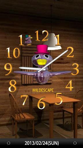 アナログ時計 Mr.Birdy's Clock