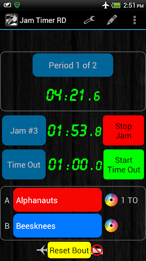 Jam Timer for Roller Derby