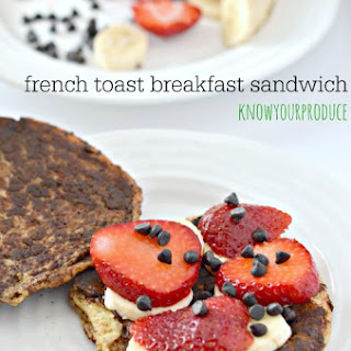 Strawberry Banana French Toast | Breakfast Burgers