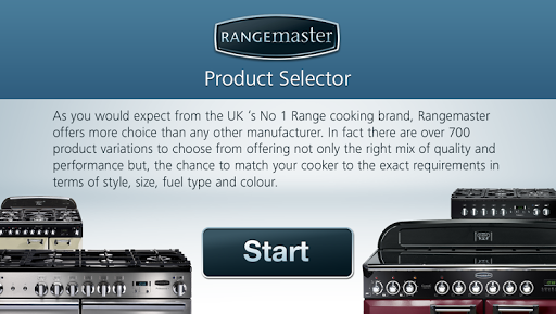 Range Cooker Selector Mobile