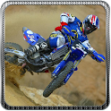 3D Motocross Mania Racing icon