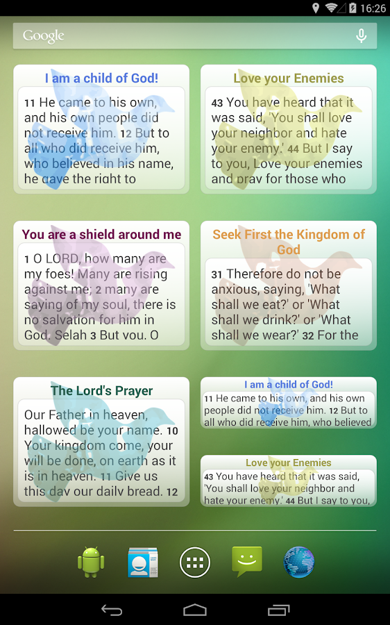 Words of Jesus Each Day- screenshot