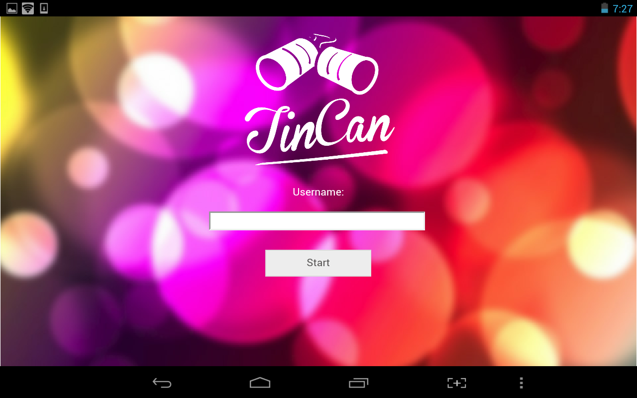 TinCan - screenshot