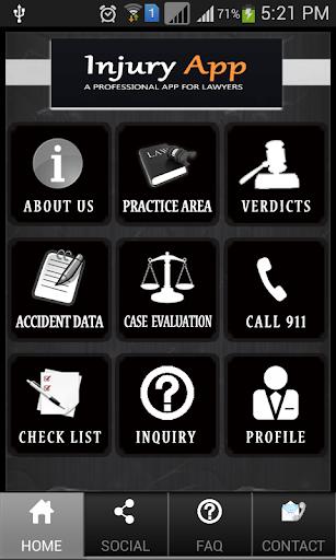 Injury App Demo