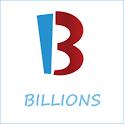 BILLIONS logo
