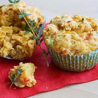 Savory Breakfast Muffins.