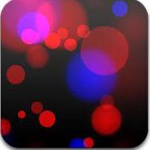 خلفية الدوائر الملونة LOGO-APP點子