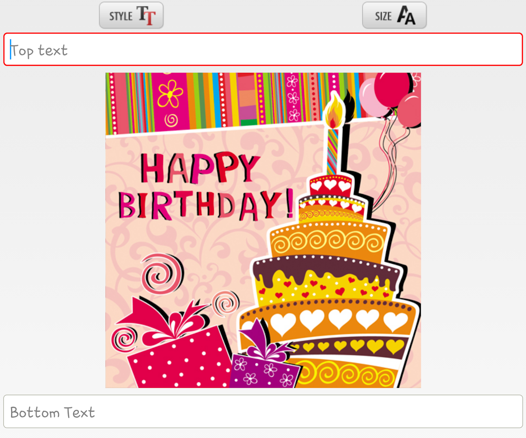 Birthday Card Maker Android Apps Birthday Invitation Card