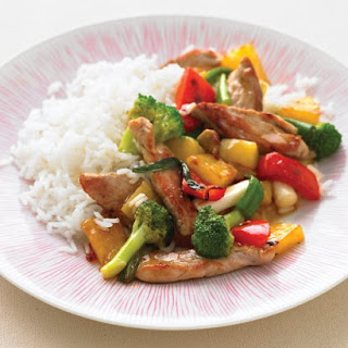 Sweet-and-Sour Pork Stir-Fry