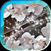 Diamonds Flowers LWP