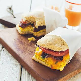 Biscuit Breakfast Sandwiches.