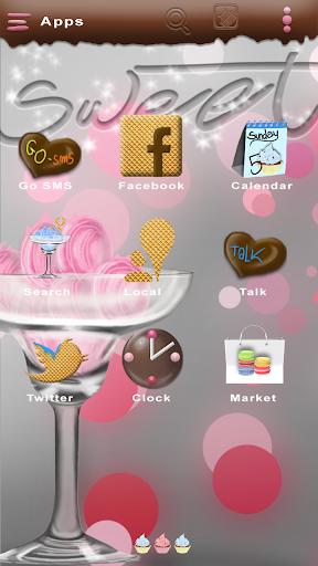 Sweet Go Launcher Theme