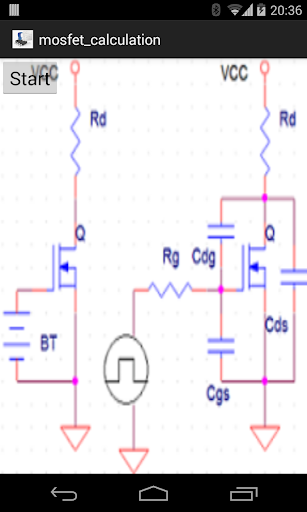 calculation mosfet circuits
