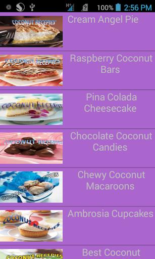 Coconut ten recepie best