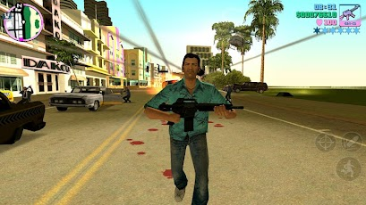 Grand Theft Auto Vice City v1.03 APK+DATA+Unlimited Money Cheats+ Pt Br without Lags Apk