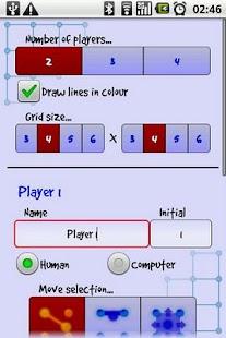 Dots 'n' Boxes / Squares - screenshot thumbnail