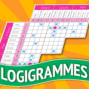 Logic Grid Puzzles in French for PC and MAC
