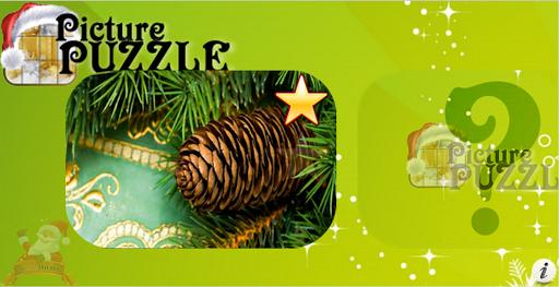 XMas Ornament Picture Puzzle