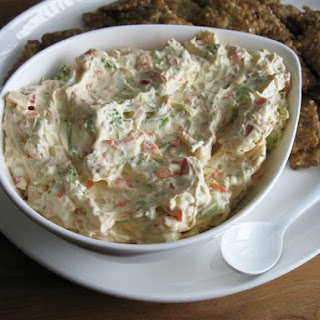Vegetable Cream Cheese Dip.