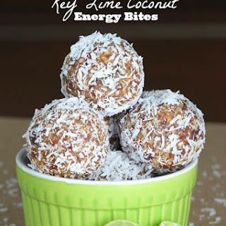 Key Lime Coconut Energy Bites.