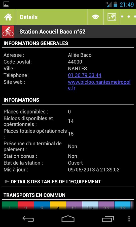 Equip'Nantes - screenshot