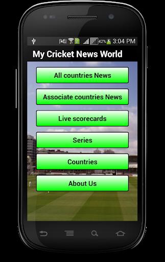 My Cricket News World