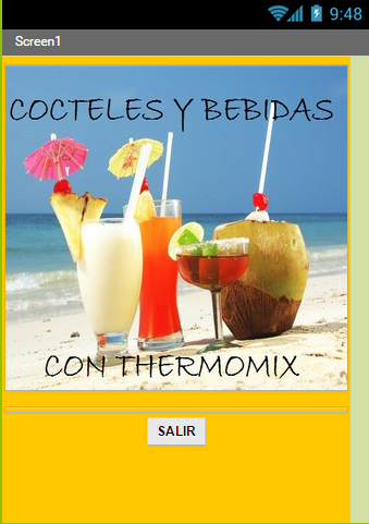 Cocktails thermomix.
